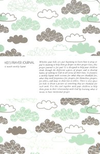 Kids Prayer Journal:6 Month Weekly Layout (Clouds)
