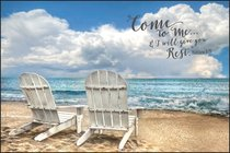Mounted Print: Come to Me & I Will Give You Rest