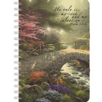 Journal Thomas Kinkade: Bridge of Faith