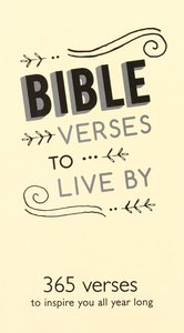 Daily Bible Verse Pad: Bible Verses to Live By, Cream