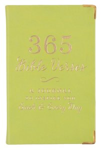 365 Bible Verses: A Journal to Inspire You Each & Every Day, Lime
