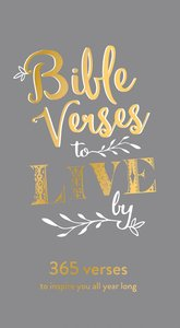 Daily Bible Verse Pad: Bible Verse to Live By, Grey