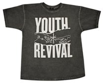 T-Shirt: Youth Revival Medium, Black/White Writing