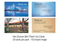 National Day of Thanks Ken Duncan Mini Thank You Cards (30 Pack)