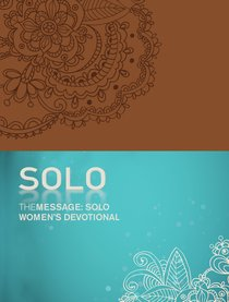 Message: The Solo Womens Devotional (Tan)