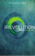 NIV Revolution Bible Hardcover the Bible For Teen Guys