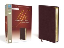 NIV Life Application Study Bible Personal Size Burgundy (Red Letter Edition)