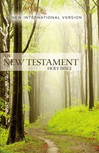 NIV Outreach New Testament Green Forest Path (Black Letter Edition)