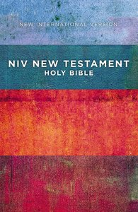 NIV Outreach New Testament Red Blue Stripes