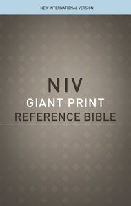 NIV Reference Bible Giant Print (Red Letter Edition)