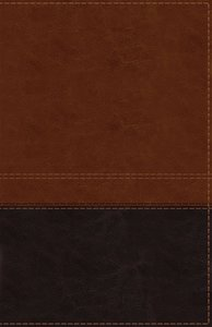 NIV Reference Bible Giant Print Brown (Red Letter Edition)