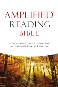 Amplified Reading Bible (Black Letter Edition)