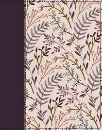NIV Journal the Word Bible Pink Floral (Red Letter Edition)