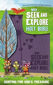 NIRV Seek and Explore Holy Bible Periwinkle