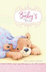 KJV Babys First Bible Pink