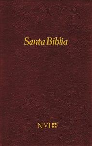 Nvi Santa Biblia Vino (Black Letter Edition) (Nvi Holy Bible Pew Edition)
