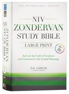 NIV Zondervan Study Bible Full Colour Large Print