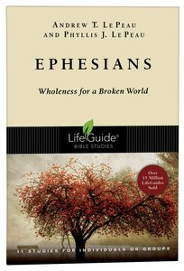 Ephesians (Lifeguide Bible Study Series)