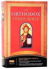 NKJV Orthodox Study Bible (Black Letter Edition)