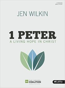 1 Peter: A Living Hope in Christ (Bible Study Book: 9-sessions Study With 8 Weeks Of Homework, Personal Study Segments, Verse-by-verse Approach To Complete A Book Study)