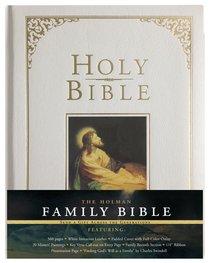 KJV Holman Family Bible White