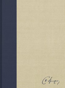 KJV Spurgeon Study Bible Navy/Tan