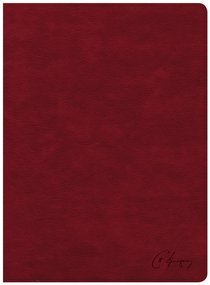 KJV Spurgeon Study Bible Crimson