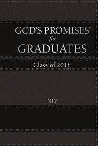 Gods Promises For Graduates: Class of 2018 - Black NIV