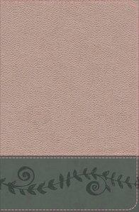KJV Study Bible For Girls Pink Pearl/Gray Vine Design (Red Letter Edition)