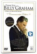 Thank You, Billy Graham: A Tribute to the Man and His Message (2 Dvds)