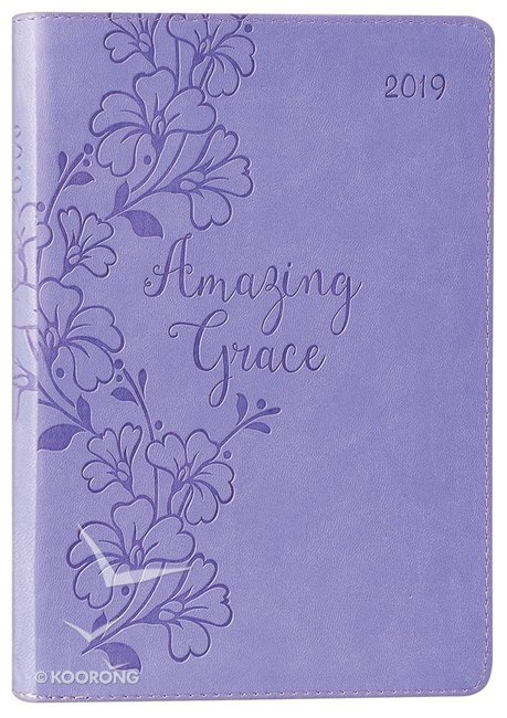 05421accf7004 Buy 2019 Executive 12-Month Diary Planner  Amazing Grace