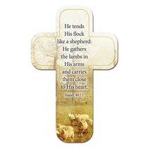 Bookmark Cross-Shaped: He Tends His Flock Like a Shepherd.... Isaiah 40:11
