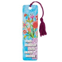 Bookmark With Tassel: God Has Made Everything Beautiful