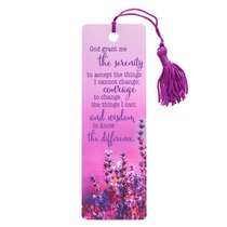 Bookmark With Tassel: God Grant Me the Serenity....