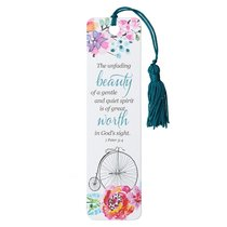 Bookmark With Tassel: The Unfading Beauty of a Gentle and Quiet Spirit.....
