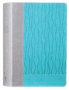 NIV Faithlife Illustrated Study Bible Gray/Blue