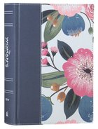 NIV the Womans Study Bible Blue Floral Full-Color