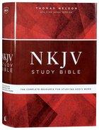 NKJV Study Bible (Red Letter Edition)