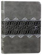 TPT New Testament Compact Charcoal (Black Letter Edition) (With Psalms Proverbs & Song Of Songs)