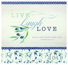 2019 Small Calendar: Live, Laugh, Love