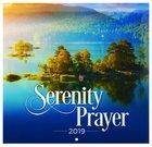 2019 Large Calendar: Serenity Prayer
