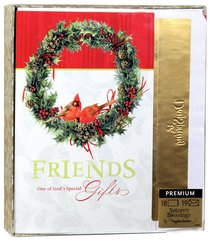 Christmas Premium Boxed Cards: Friends One of Gods Special Gifts - Marjolein Bastin
