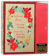 Christmas Premium Boxed Cards: Wreath (1 Corinthians 2:9)