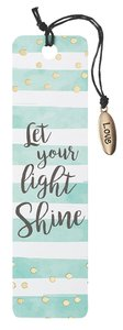 Bookmark With Tassel and Charm: Let Your Light Shine (Sparkle Range)