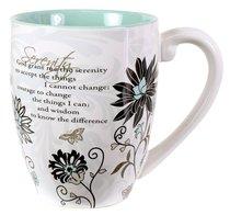 Mark My Words Ceramic Mug: Serenity Prayer