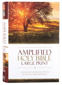 Amplified Holy Bible Large Print (Black Letter Edition)
