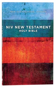NIV Outreach New Testament Red Blue Stripes (Black Letter Edition)