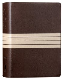 NIV Journal the Word Reference Bible Brown/Tan Red Letter Edition