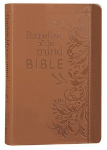 Amplified Battlefield of the Mind Bible Brown