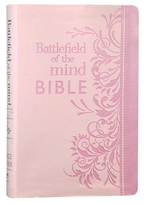 Amplified Battlefield of the Mind Bible Pink